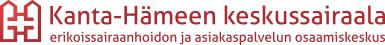 Kanta-Hämeen Keskussairaalan logo