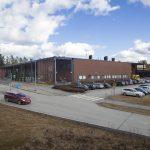 Kanta-Hämeen sairaanhoitopiirin Hämeenlinnan yksikön ensiapu kuvattuna pihalta päin