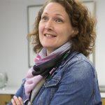 Kanta-Hämeen sairaanhoitopiirin hallintojohtajana työskentelevän Miia Luukon lähikuva. Kuva on nettikoossa