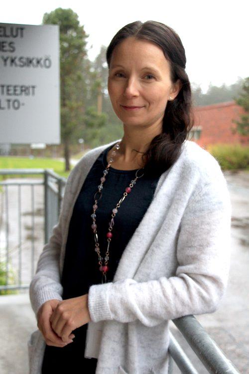 Kuva: Asiakaspalvelun erityisasintuntija Sanna Mäkynen