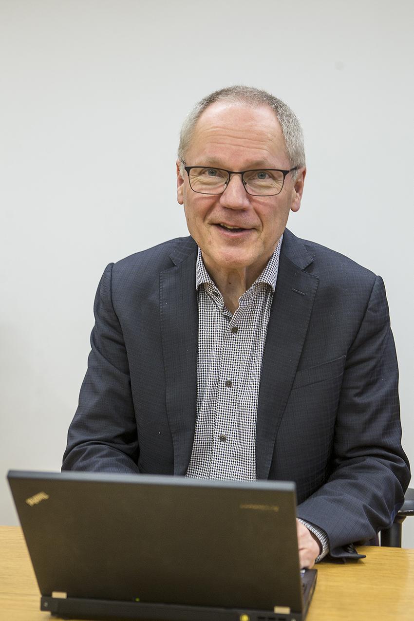KHSHP:n johtaja Hannu Juvonen