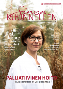 Sinua Kuunnellen -lehden numeron 2/2018 kansikuva.