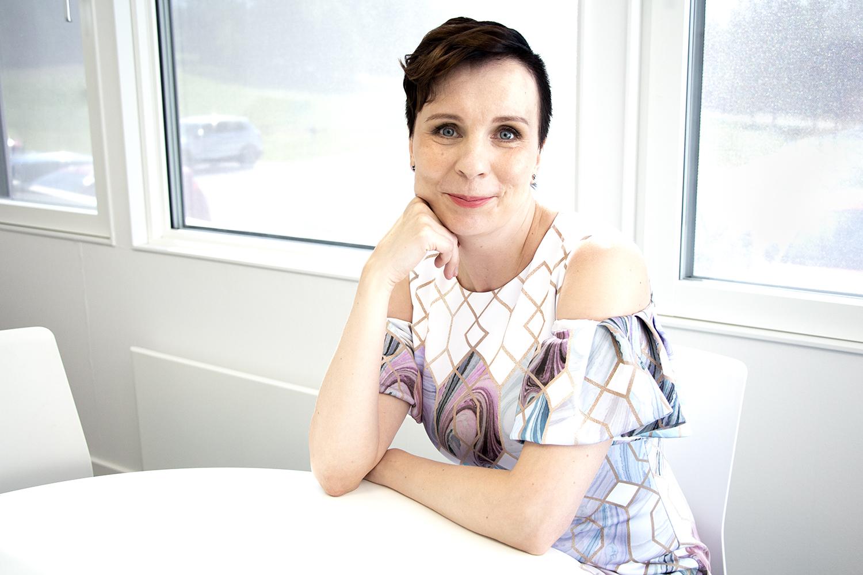 Kuvassa KHSHP:n tuleva johtajaylilääkäri Sally Järvelä.