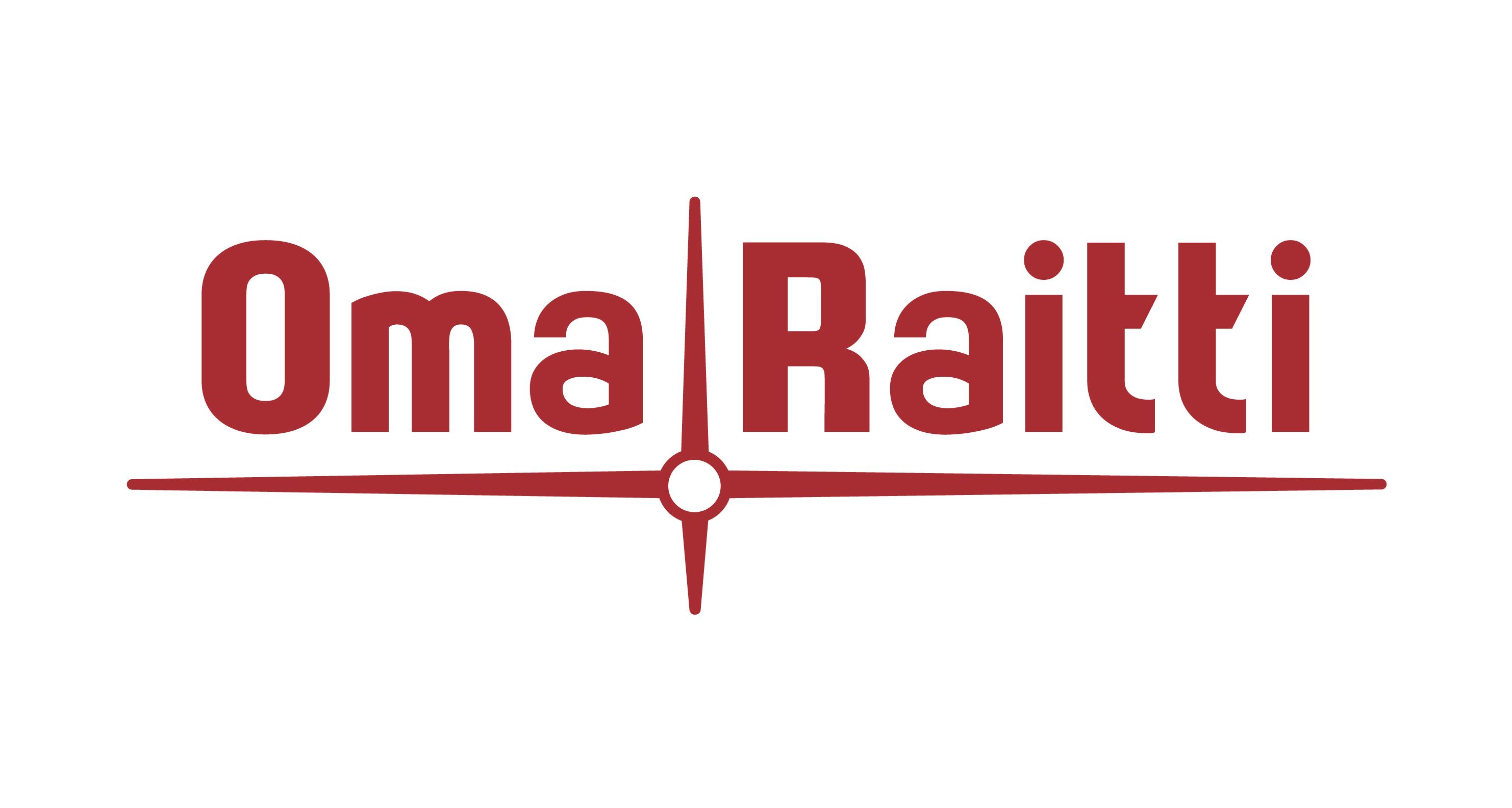 Oma Raitti -palvelun logo