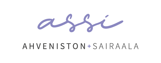 Ahveniston sairaalan - Assin logo