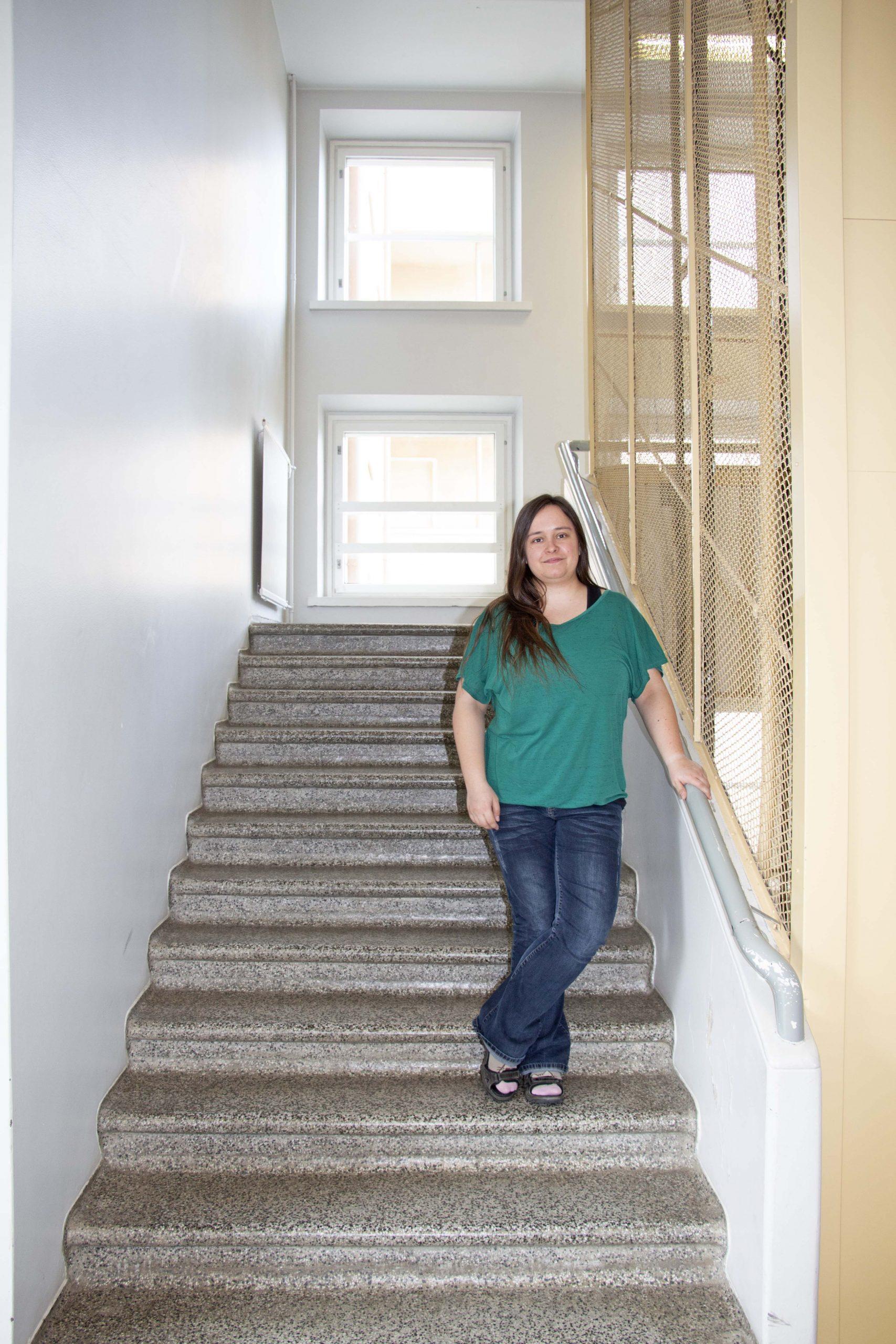 Lasten ja nuorten psykologi Mia Huolman
