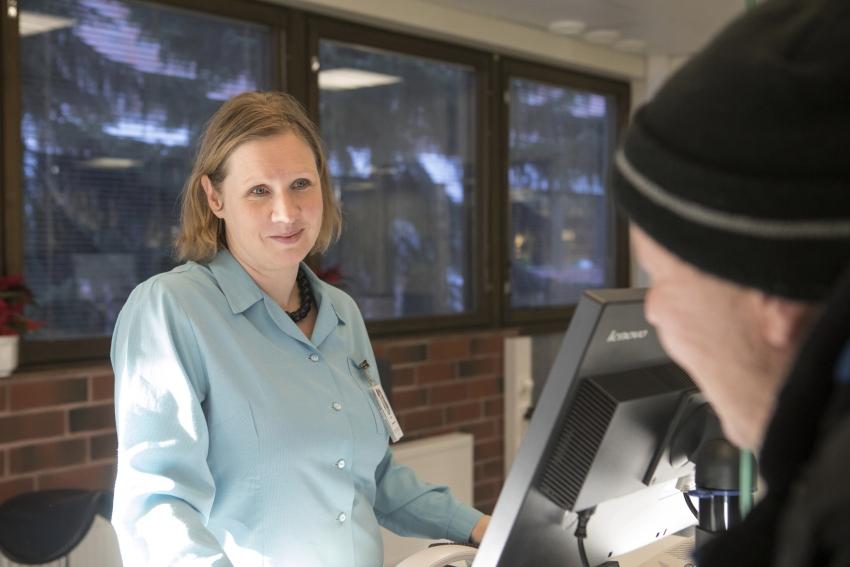 palveluvastaava Kati Kauppinen
