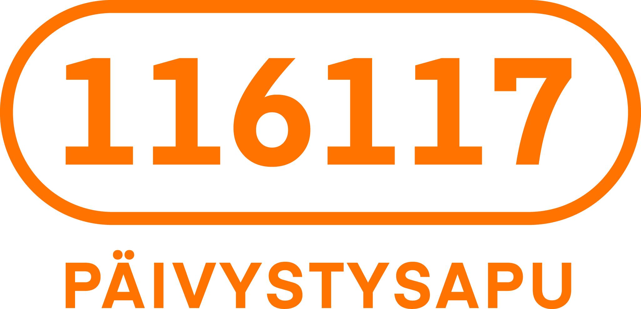 Päivystysapunumeron 116117 logo